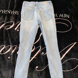 RSQ Jeans - Frayed Light Blue Jeans